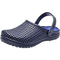 WINJIN Sabots de Jardin Homme Chaussons Plage Ete Pantouffles Mode Chaussures Sport Sandales Casual