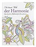 Idena 68136 - Malbuch für Erwachsene, Motiv Harmonie, 64 Seiten