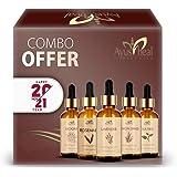 Ayusheal Lemon Grass, Tea Tree, Mogra, Rosemary, Lavender Essential Oil 100% Pure & Natural 30 ML Each (Essential oils combo)