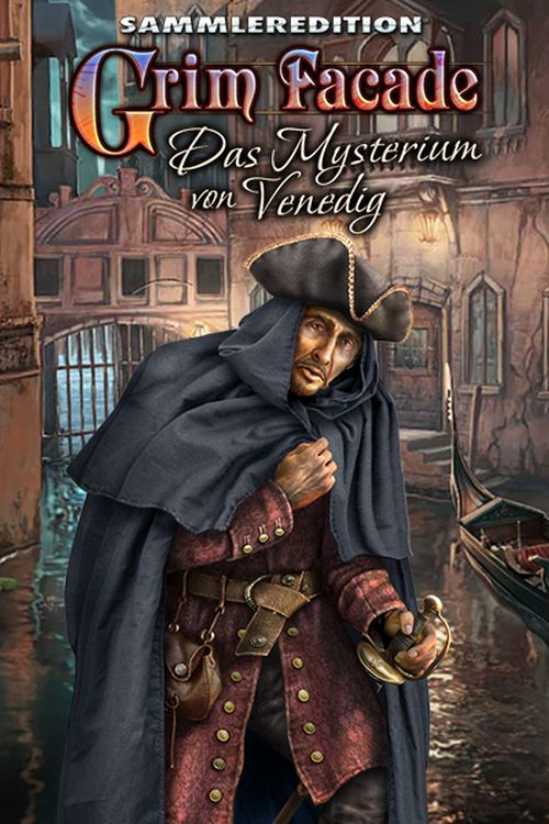 Grim Facade: Das Mysterium von Venedig Sammleredition [PC Download]