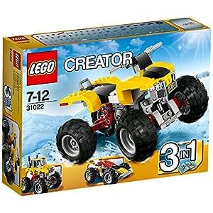 Lego Creator - 31022 - Jeu De Construction - Le Quad Turbo