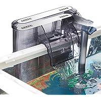 AKKEE Filtro per Acquario, Valvola di Flusso Regolabile, Acquario Sommergibile Filtro a Cascata Tipo di 200L / H Filtro…