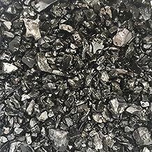 eislebener Ornamentales de jubileo Grava 5/16mm, Negro/Antracita redondeados, decoración para casa y jardín, 3kg