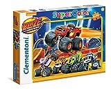 Clementoni 24743 - Puzzle Blaze And The Monster Machines, 2 X 20 Pezzi