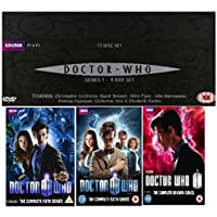 Doctor Who Complete BBC TV Series Collection [39 Discs] DVD Box Set Season 1, 2, 3, 4, 5, 6, 7 + Specials + Extras