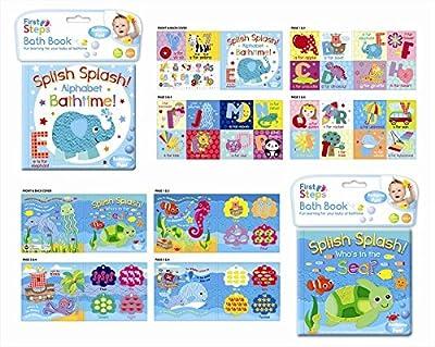 Soft Baby Bath Book - Assorted