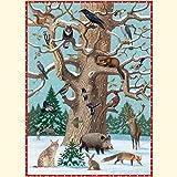 Tiere im Winter (Adventskalender)