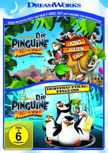 King Julien Tag & Geheimauftrag: Pinguine (2 DVDs)