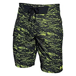 Under Armour Men`s Reblek Boardshort, 40, Fuel Green