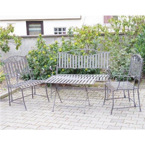Westerholt GmbH Sitzgruppe Schmiede Eisern 4tlg