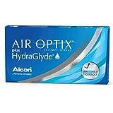 AirOptix Plus Hydraglyde 10109109 Lentes de Contacto, R 8.6, D 14.2, Dioptría -04.50-6 Unidades