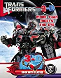 Best E-More Eye Glasses - Transformers More than Meets the Eye: 3D Book Review