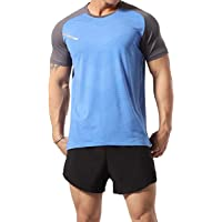 GYMAPE Canotte da Allenamento atletiche da Uomo Camicie da Corsa muscolari comode Traspiranti Allenamento Quick Dry Gym…