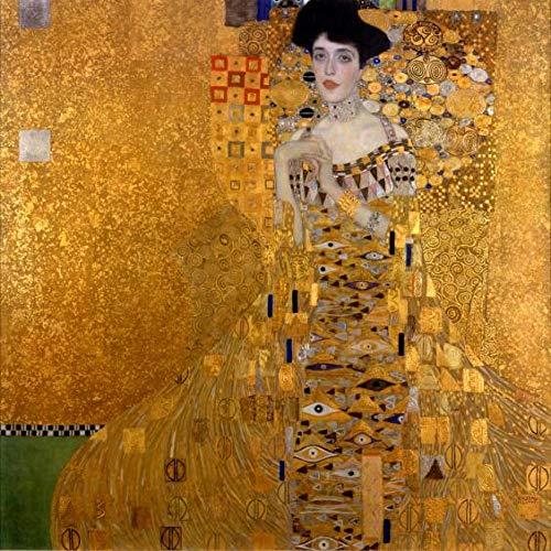 W15Y8 Gustav Klimt Kisses Painting Portrait En Adele