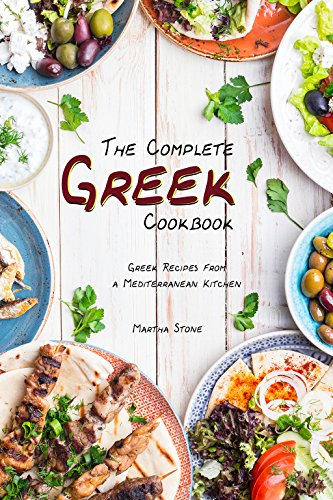 The Complete Greek Cookbook: Greek Recipes from a Mediterranean Kitchen (English Edition) (Frozen Bar Soap)