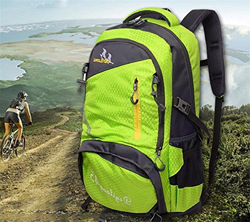 Neue multifunktionale Rucksack outdoor Bergsteigen Tasche wasserdicht Freizeit Reisetaschen Green