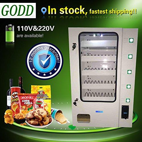 Yoli® Candy Automaten, kleiner Spender für Snacks mit Coin ACCEPTOR, 5Arten Produkte, 110oder 220V
