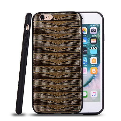 """HYAIT® For IPHONE 6 4.7"""" Case[Diamond][Shockproof] Dual Layer Hybrid Armor Rugged Plastic Hard Shell Flexible TPU Bumper Protective Cover-BAN01 BAN03"""