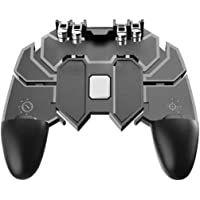 CQLEK® PUBG 6 Fingers Operation, Joystick Remote Grip Shooting Aim Keys Mobile Game Controller with L1R1 L2R2 Triggers…