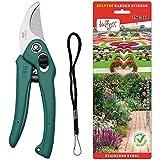 #4: Bulfyss Garden Scissor YSG-603 (Color May Vary)