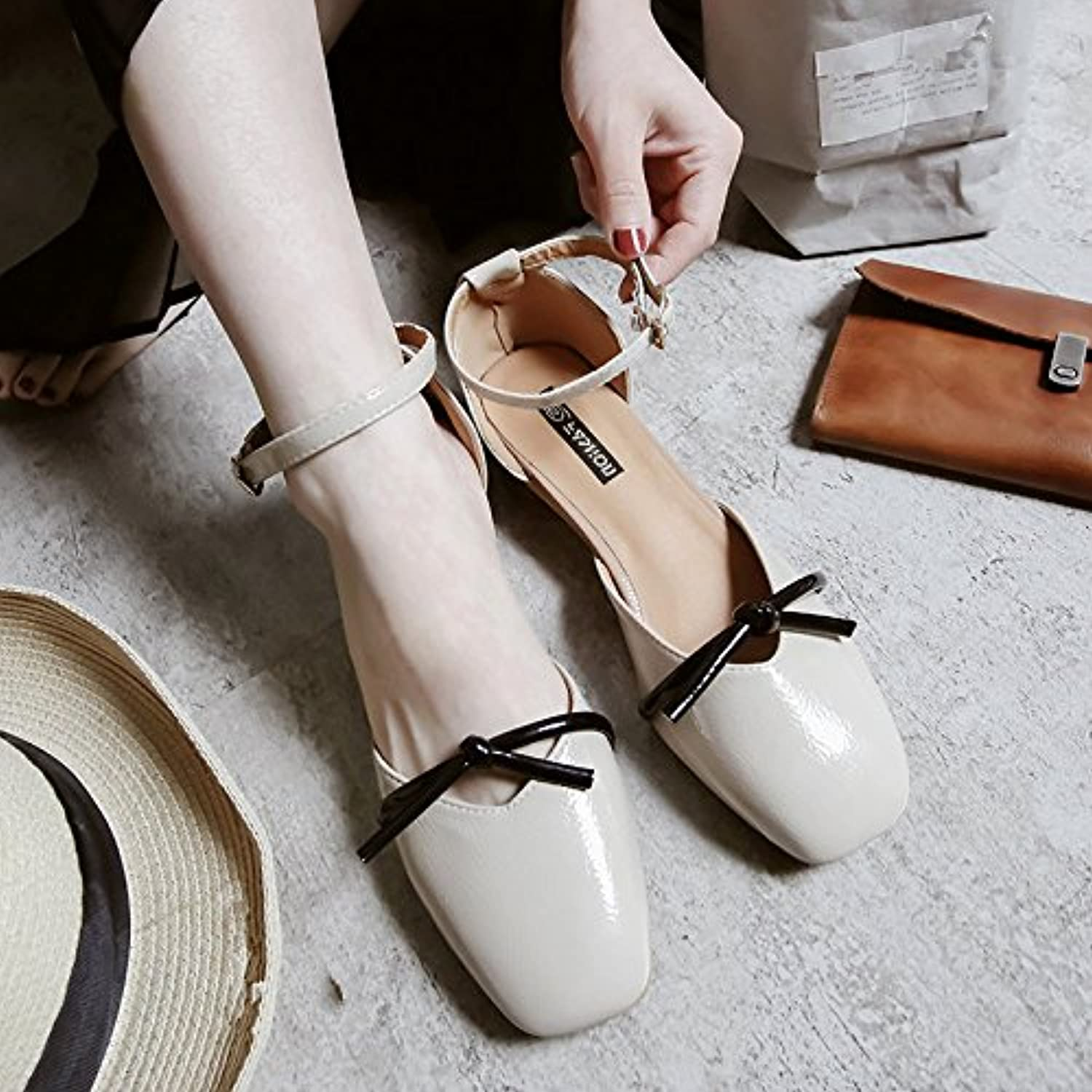 444a7b431469 GAOLIM Baotou Sandals Women Spring Spring Spring Women Shoes Rough With  Small Toe Shoes With A Shoe. B07BZJG64G Parent 06b75a