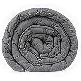 HIGH LIVING Viktad filt sensorisk sömn minska ångest (medium (122 cm x 183 cm)