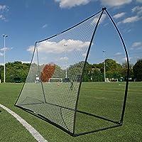 Portería de fútbol con red rebotante QuickPlay (ahora con base de acero) de 210 x 210 cm