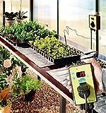 Bio Green Heizmatte Gewächshaus Aluminium Thermostat - 2