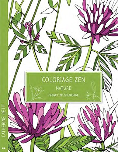 Coloriage zen - Nature - Carnet de coloriage par Catherine Petit