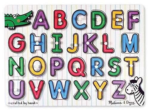 zle - Alphabet - Englisch * von Melissa & Doug (Melissa Und Doug Alphabet-puzzle)