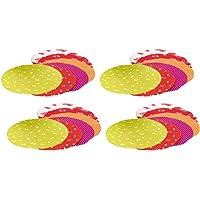 com-four® 24x Napperon décoratif pour bocaux de conservation - Décoration pour bocaux de conservation avec des…