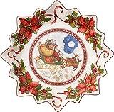 Villeroy & Boch 14-8332-3649 Ciotola Volo di Babbo Natale, Porcellana, Grande