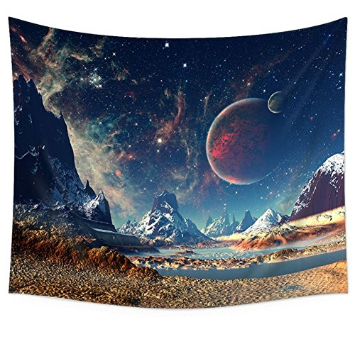 Sport-thema Tischdecke (Tapestry Wall Hanging Forest Star Clear Sky Starry Sky Tapisserie Bedspread Picnic Blanket Beach Towel Wall Decor Home Decor Wall Tapestry Indian Mandala Wall Hanging Home Decorative Art Rugs , 001 , 200*150cm)