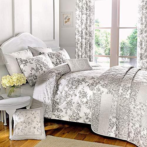 Sogni n tende curtina malton - set copripiumino e federa, grigio, cotone poliestere, grigio, il matrimonio