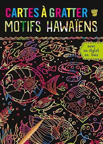 Cartes à gratter - Motifs hawaïens
