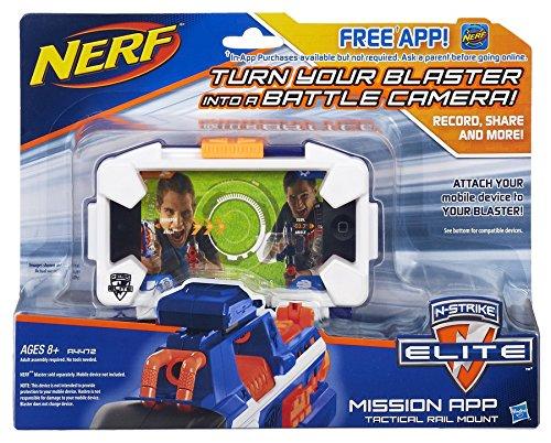 Nerf N-Strike Elite Mission App Battle Camera Tactical Rail Mount -