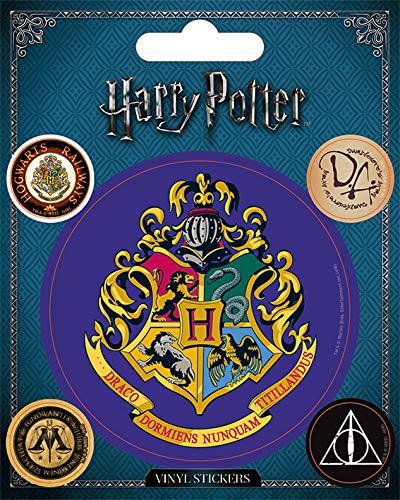 Wizarding World Harry Potter-Hogwarts, adesivo in...