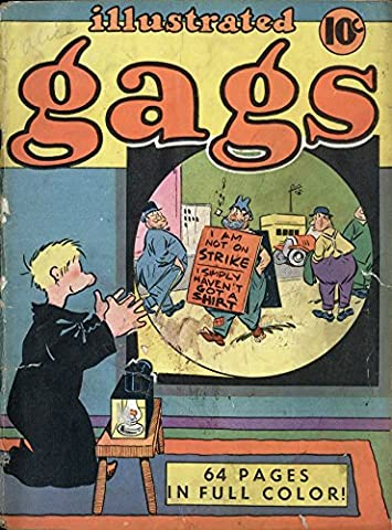 POSTER comics cover Small Publishers Single Series 16 Illustrated Gags United Features Vintage Wall Art Print A3 replica