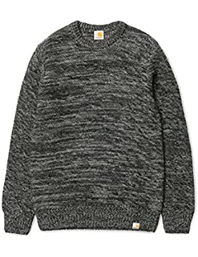 CARHARTT MAGLIONE IN MISTO LANA ACCENT SWEATER DARK GREY-S