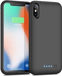 Trswyop Akku Hülle Für Iphone X Xs Elektronik
