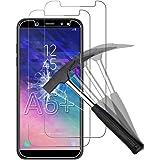 ANEWSIR [2 Pack] Pellicola Protettiva per Samsung Galaxy A6 Plus, Samsung A6 Plus Vetro Temperato, Samsung A6 Plus Pellicola