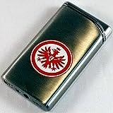 Eintracht Frankfurt Luxus Feuerzeug Metall chrom lighter