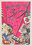 Weiblich ab 3030. Jahr Sie geboren wurden, in 1988Geburtstagskarte