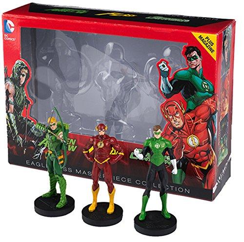DC Comics Sammelfiguren - Justice League : Flash, Arrow & Green Lantern