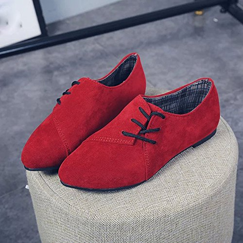 Lanspo , Tongs pour femme red
