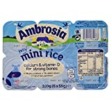 Ambrosia Rice Mini Pots, 6 x 55 g