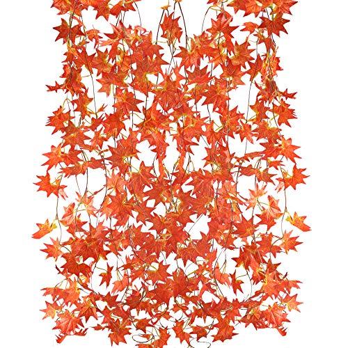 MIHOUNION guirnalda flores artificiales 5 hilos 2.5