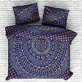 Weihnachtsdekorative Urban Outfitter Blue Elephant Indian dekoriert Schlafzimmer Dekor Home Decor Decke Quilt böhmischen Tagesdecke Bettwäsche Baumwollteppich Indian Bettwäsche Throw Decken Bettbezug