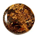 Gems&JewelsHub 76.25CTS 100% naturale giada designer Peter Bronzite pietra preziosa rotonda cabochon sciolto