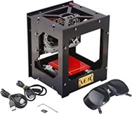 Mermoda 500mW DIY Cnc Laser Cutter Engraving Machine USB Laser Engraver Box Automatic Off-line with glass